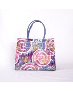 Loincloth Woodin and blue velvet handbag
