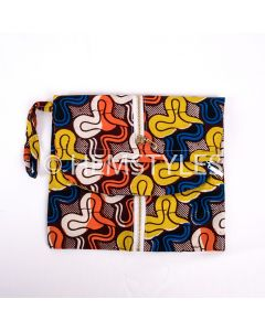 Wax clutch bag