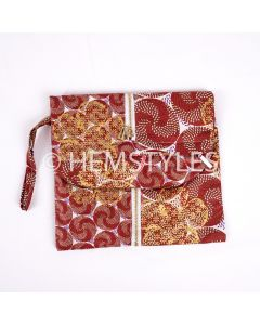 Woodin clutch bag